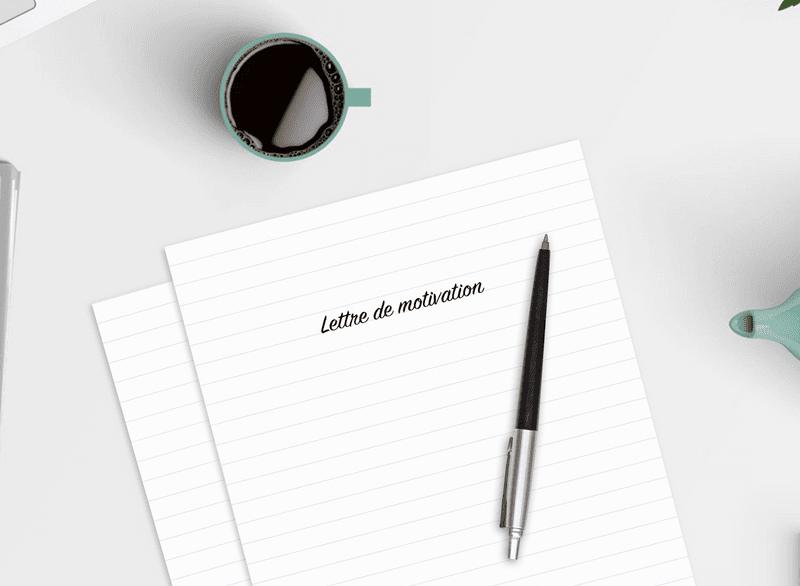 Canva lettre de motivation
